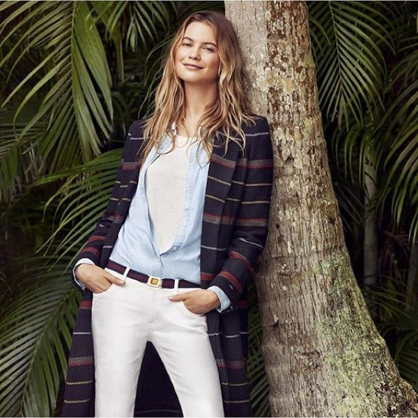 Behati Prinsloo Embraces Vacation Style with Tommy Hilfiger