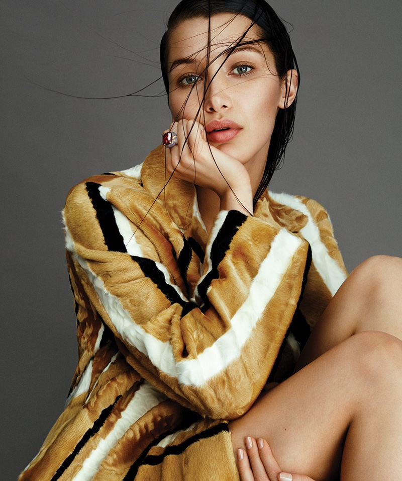 Bella Hadid Sparkles in Jewelry Story for BAZAAR Spain