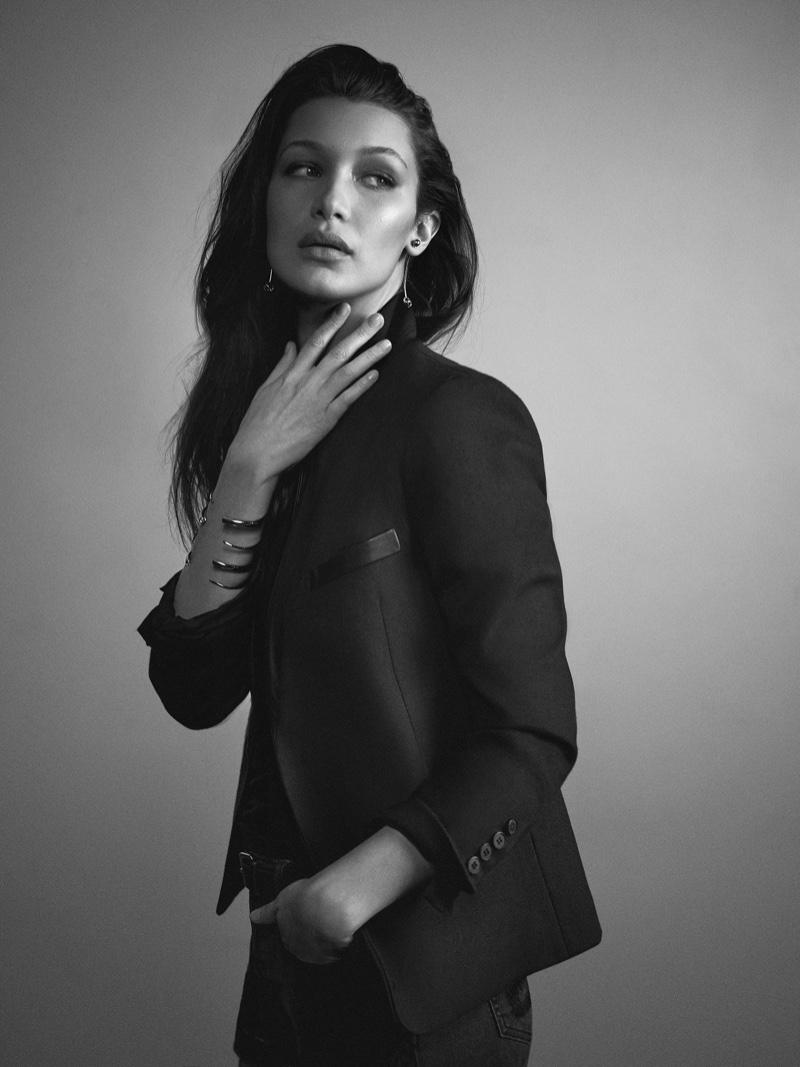 Bella Hadid stars in Joe's Jeans spring 2016 campaign