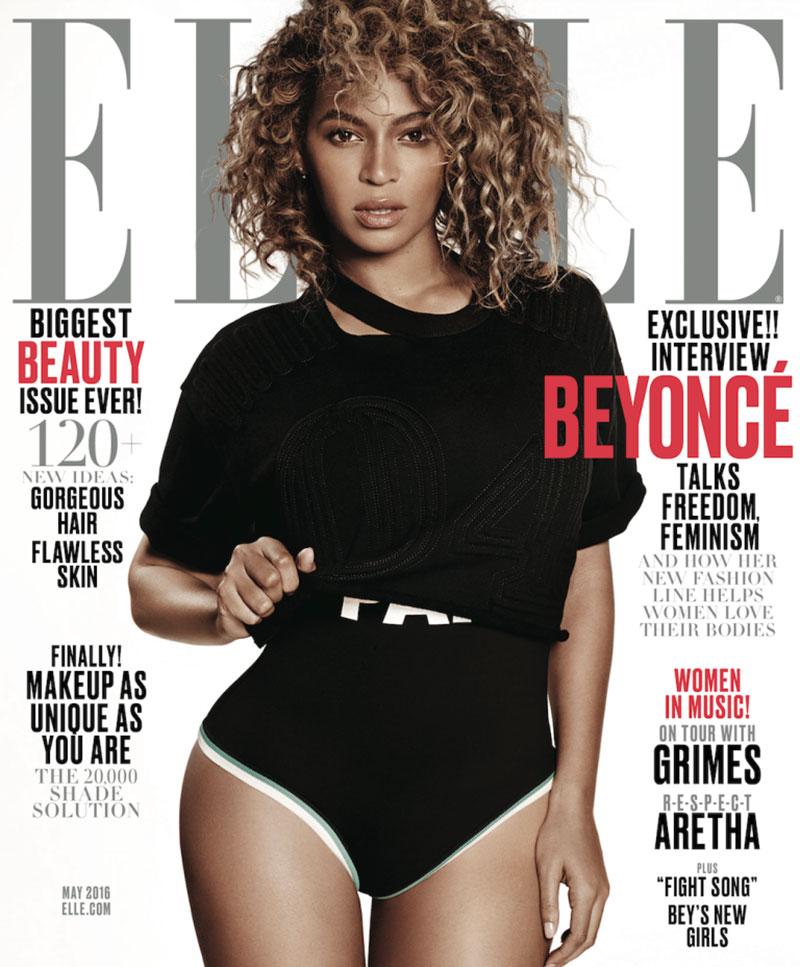 Beyonce Covers Two Editions of ELLE, Announces Activewear Line