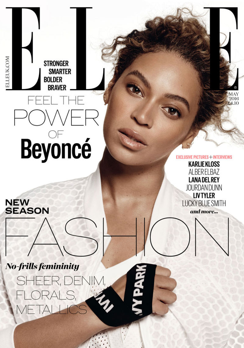 Beyonce on ELLE UK May 2016 Cover