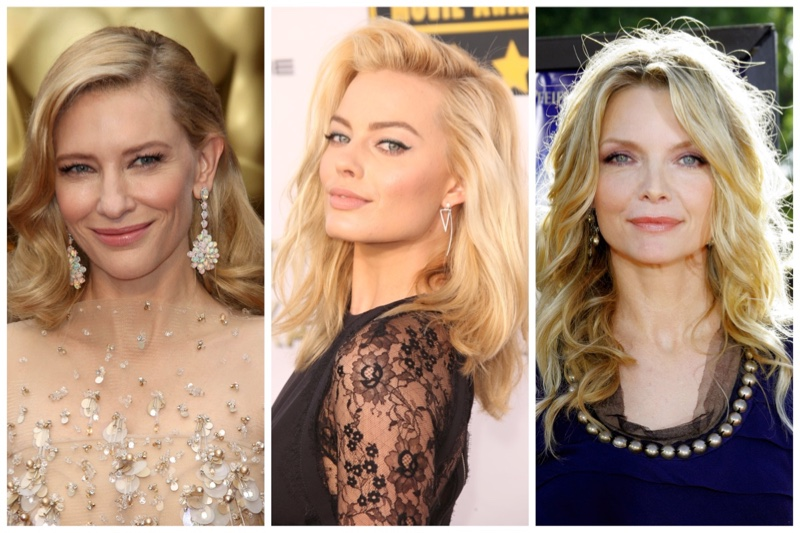 Actresses Blonde Hairstyles
