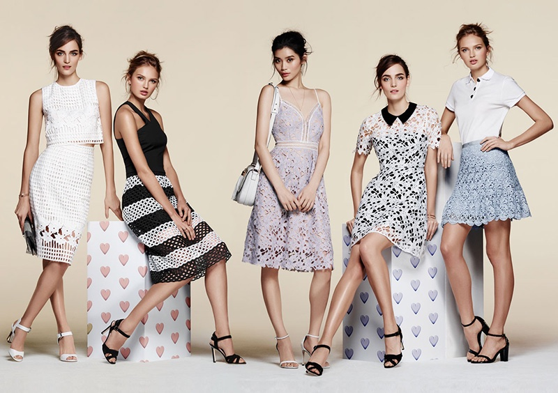 An image from Bloomingdale's spring-summer 2016 campaign