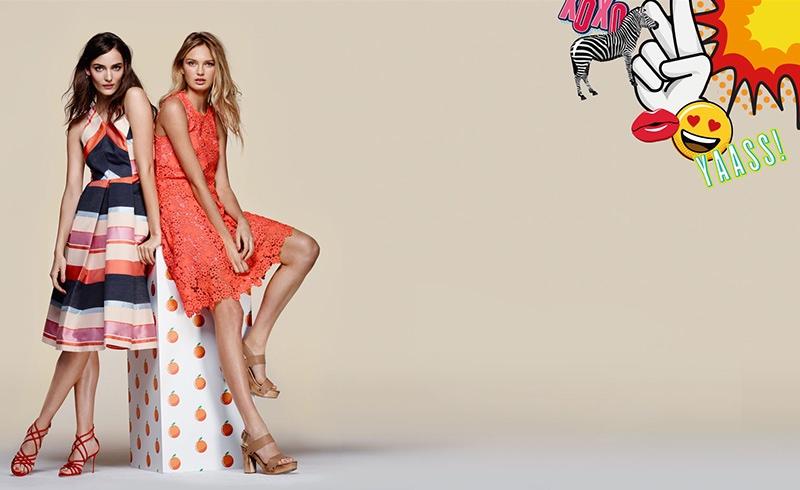Bloomingdale's spotlight Whistles dresses for spring 2016