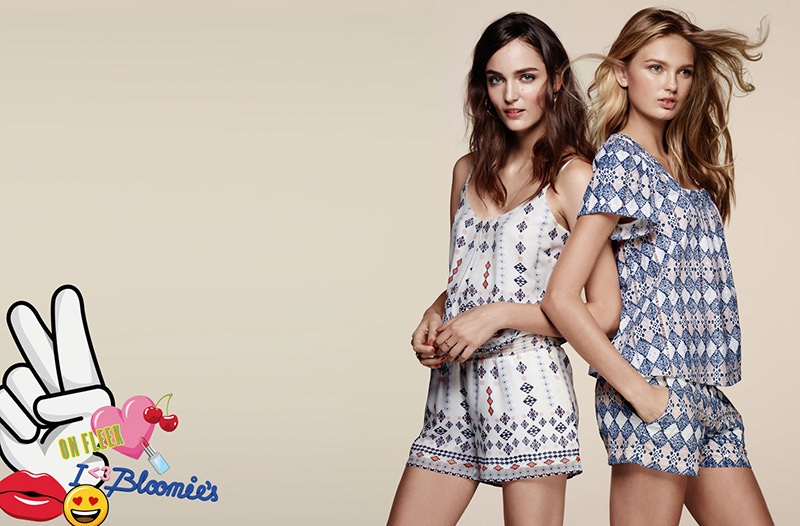 1727e2cfd78 ... campaign Joie creates amazing prints for Bloomingdale s spring 2016  collection