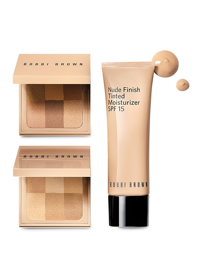 GET KATE'S LOOK: Bobbi Brown Nude Finish Illuminating Powder, Bobbi Brown Nude Finish Tinted Moisturizer SPF 15
