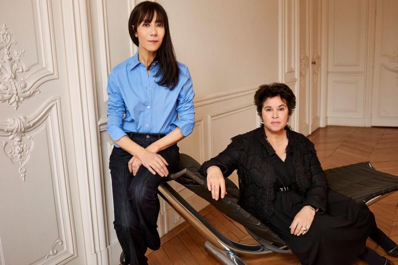 Bouchra Jarrar and Michèle Huiban. Photo: Lanvin