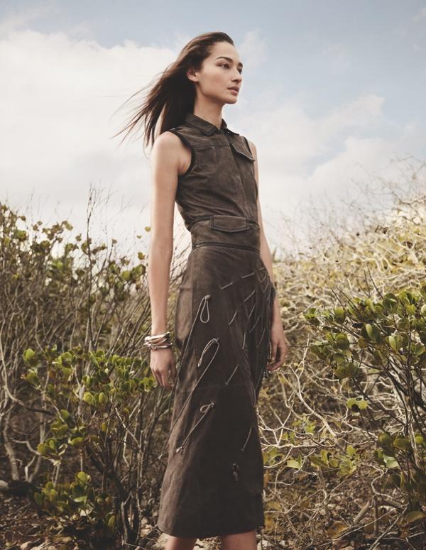 Bruna Tenorio Models Desert Chic Looks for Madame Germany