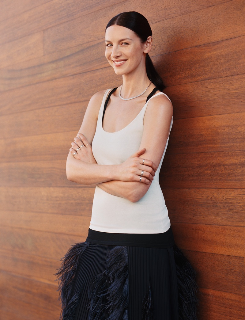 Caitriona Balfe stars in InStyle's April issue