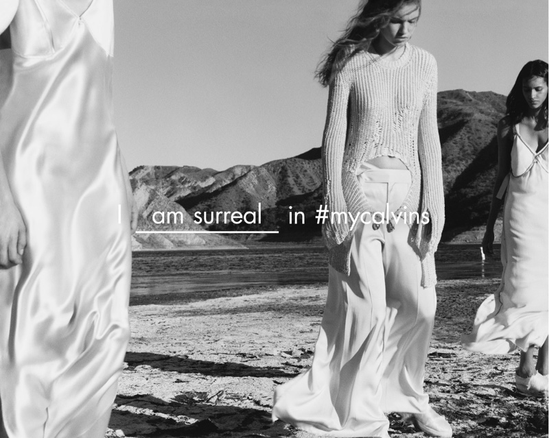 Photographed by Jamie Hawkesworth, Calvin Klein Collection goes outdoors with its spring 2016 campaign