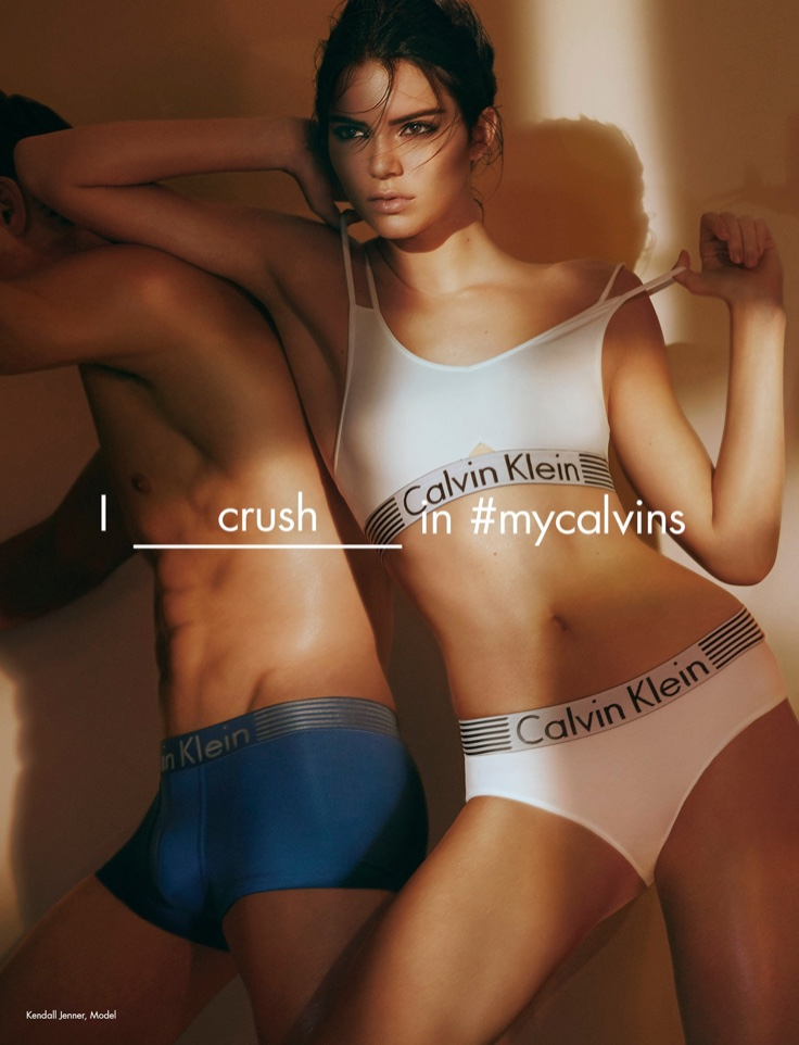 Kendall Jenner fronts Calvin Klein Iron Strength campaign