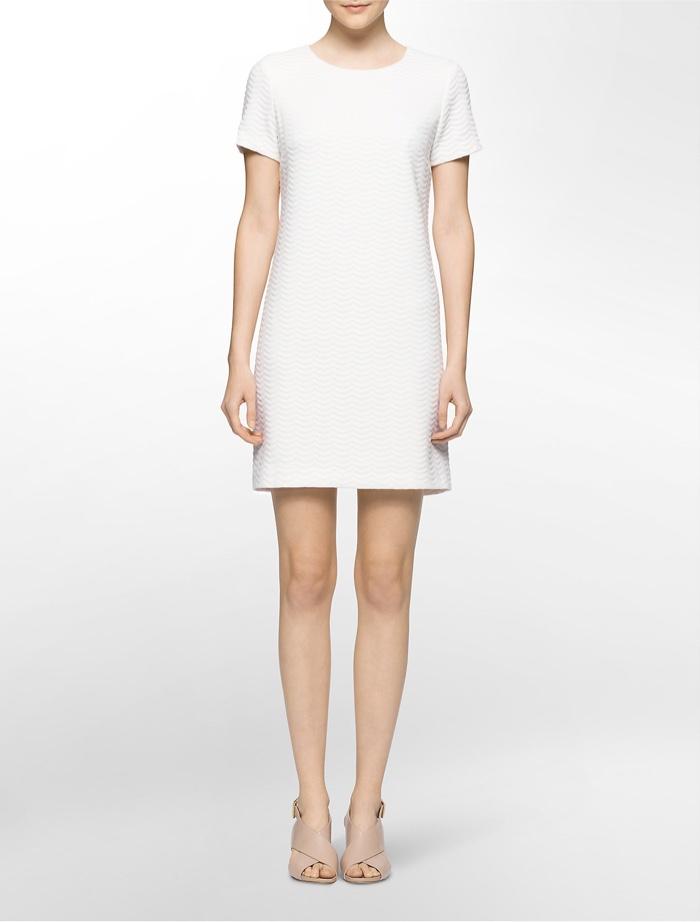 Calvin Klein White Label Shift Dress