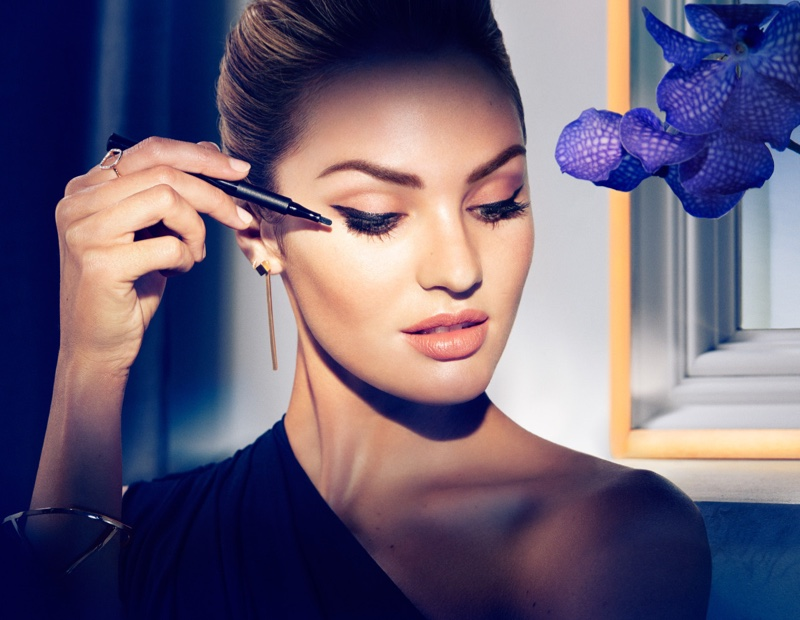 Candice Swanepoel for Max Factor
