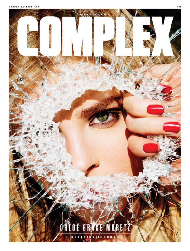 Chloe Grace Moretz on Complex April-May 2016 Cover