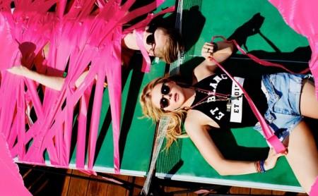 Chloe Grace Moretz Rocks Party Girl Looks for Complex
