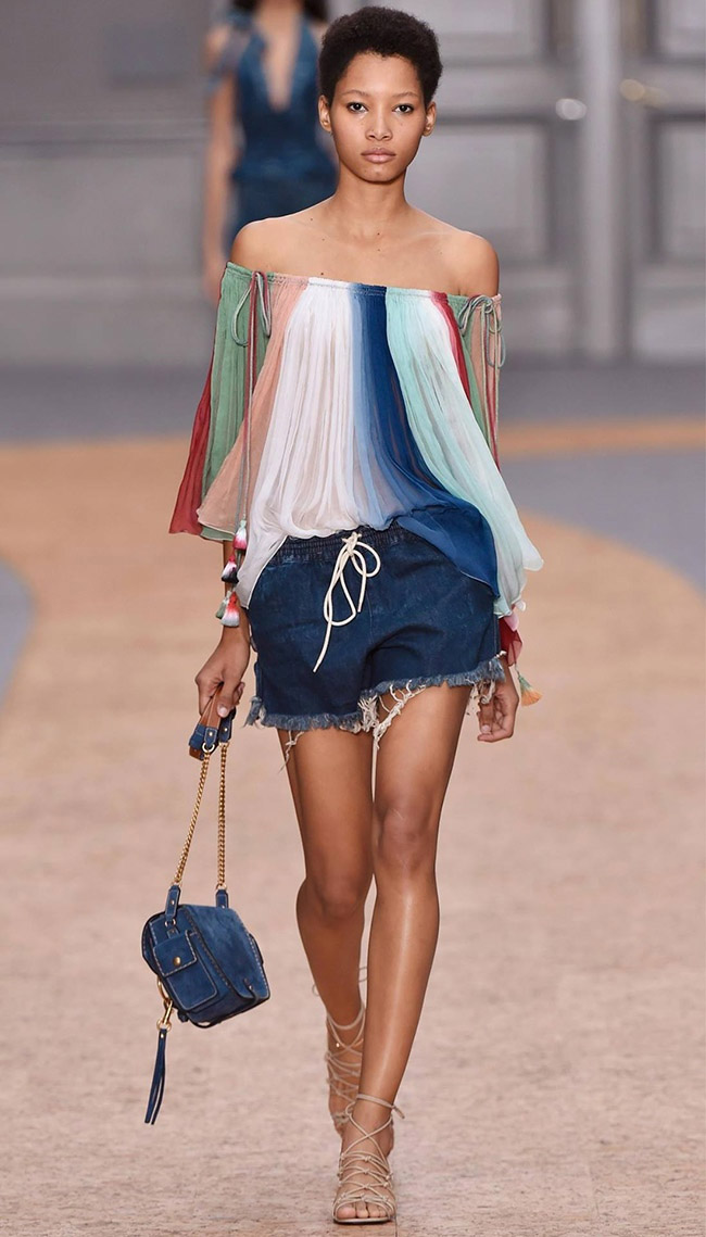 A look from Chloe's spring 2016 collection