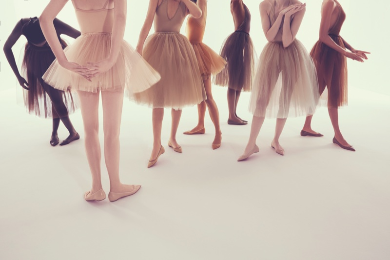 Christian Louboutin Gives Ballet Flats The Nude Treatment