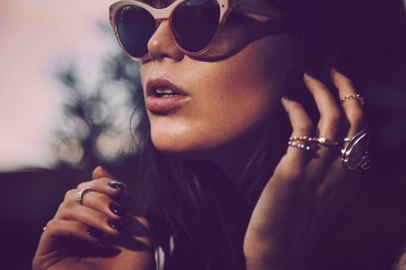 Daisy Lowe Shines in Pamela Love's New Jewelry Campaign
