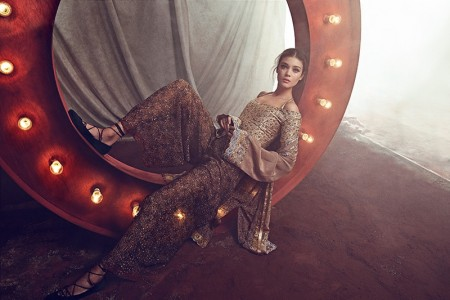 Diana Moldovan Enters the Circus for Woman Spain by Richard Ramos
