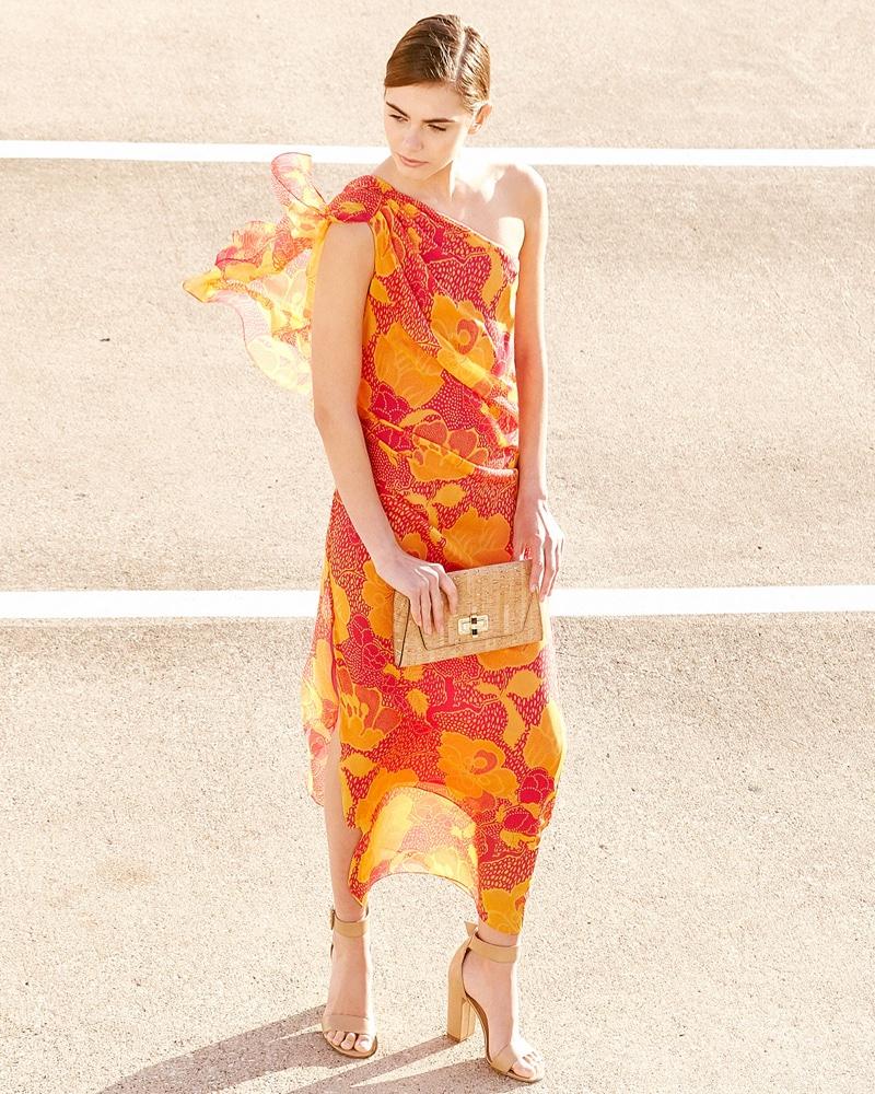 Diane von Furstenberg Nori Flower Power Silk Maxi Dress