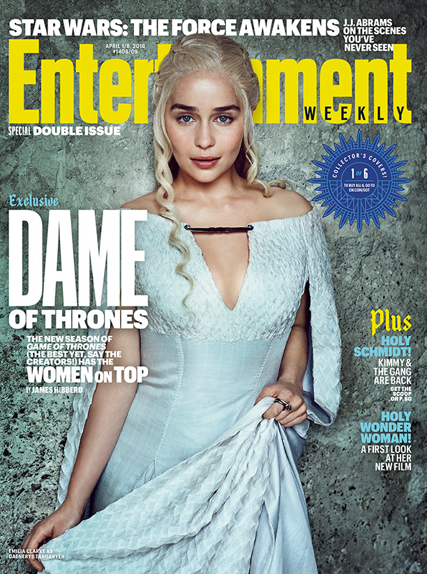 The Women Of Game Of Thrones Land Six Stunning EW Covers