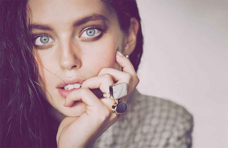 Emily DiDonato Gets Her Closeup for Allure Russia Editorial
