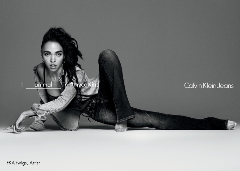 FKA Twigs Calvin Klein Jeans Spring 2016 Campaign