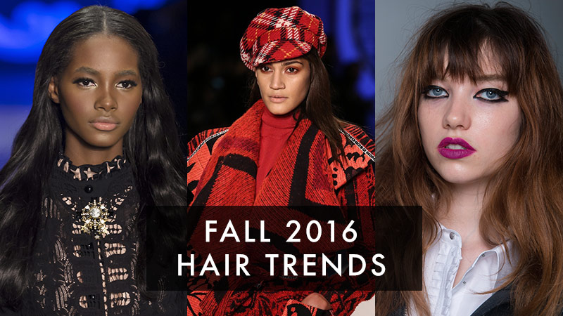 4 Fall 2016 Hair Trends You Can Try Now