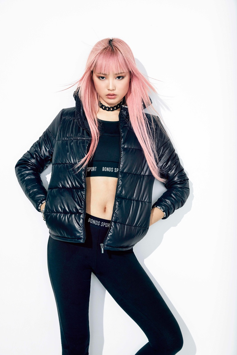 Fernanda Ly Rocks the Puffer Jacket in BONDS Campaign