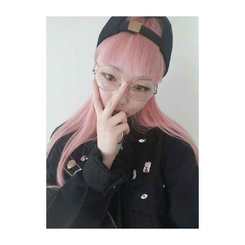 Fernanda Ly shares a snapshot with round glasses on Instagram