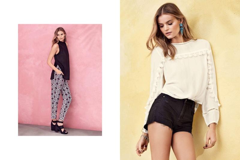 9ac0354789d Kate Grigorieva Embraces Festival Fashion for H M