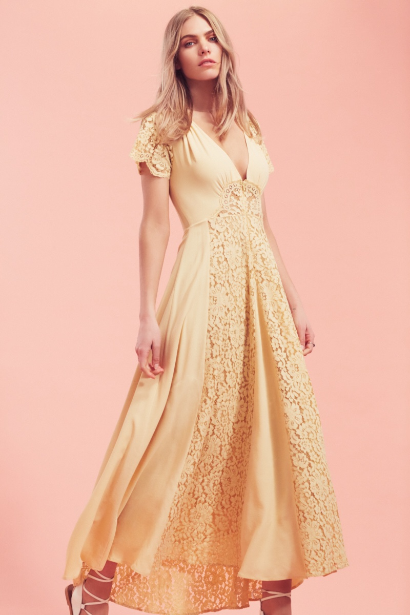 Christy Dawn Fritzgerald Chantilly Lace Dress