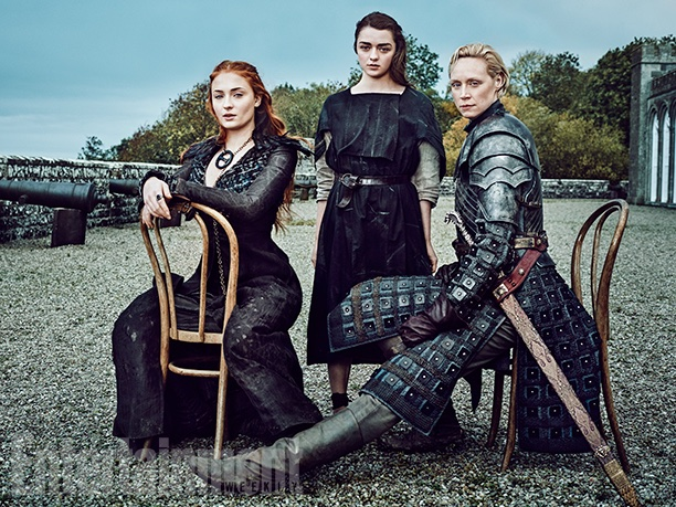 The Women of 'Game of Thrones' Land Six Stunning EW Covers