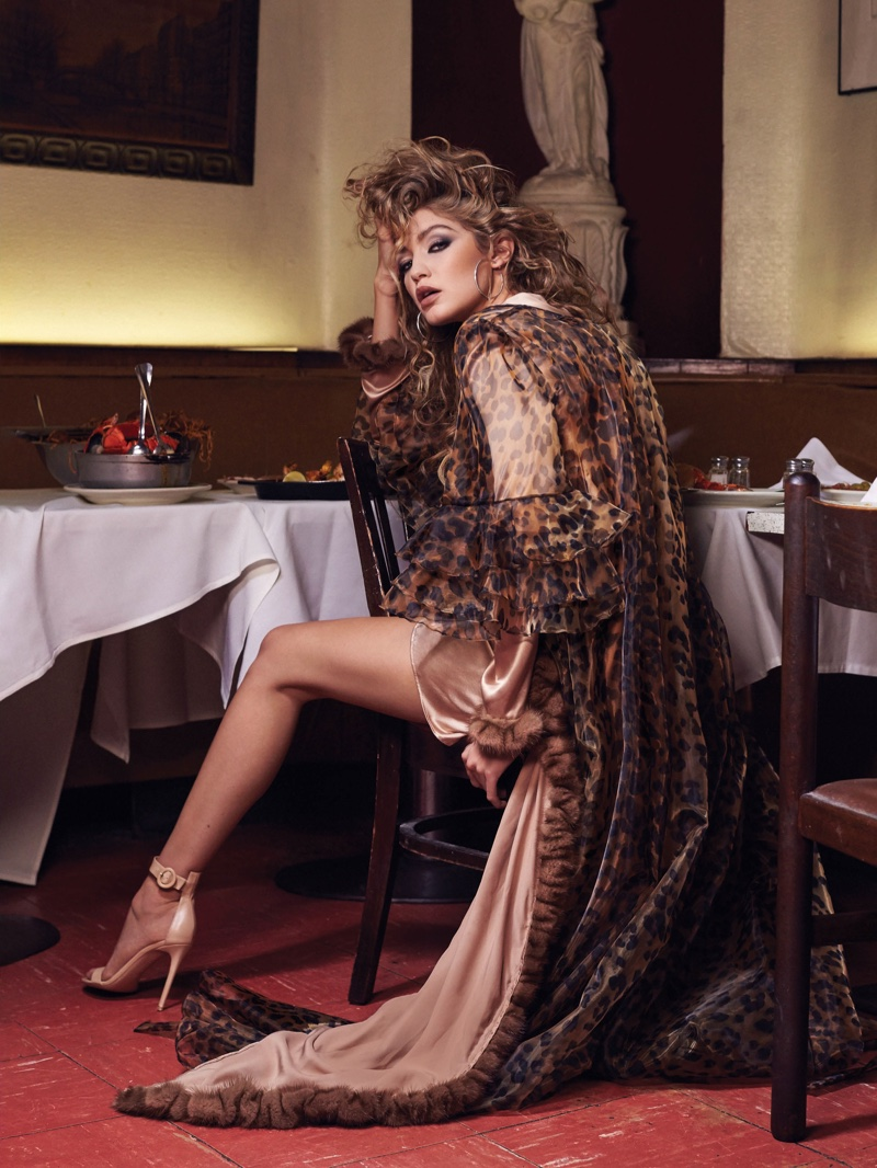 Gigi Hadid stars in CR Fashion Book #8 fashion feature