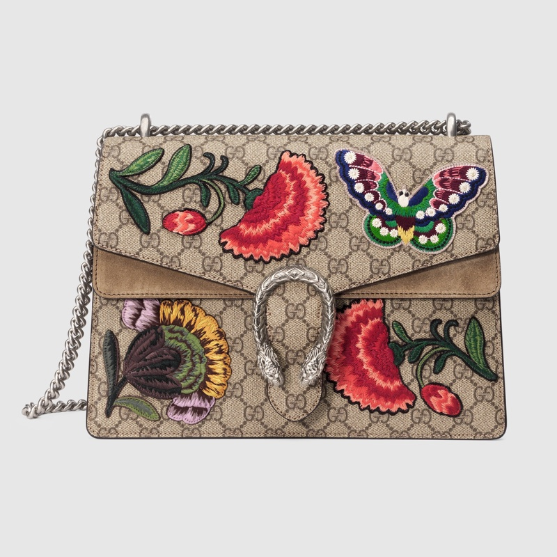 Gucci Dionysus GG Supreme Canvas Shoulder Bag