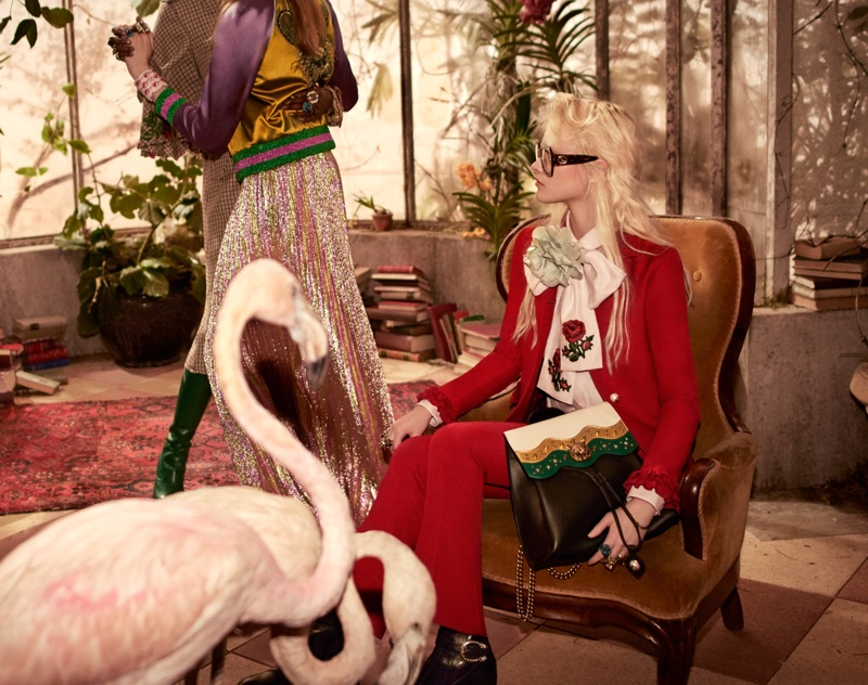 An image from Gucci's pre-fall 2016 campaign