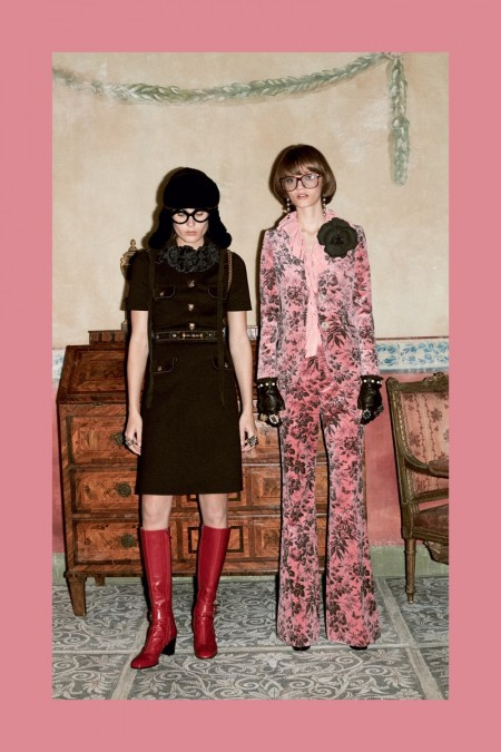 Gucci Sets Pre-Fall Campaign in An Aviary