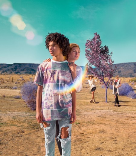 The H&M Loves Coachella Campaign Takes Us on a Colorful Trip