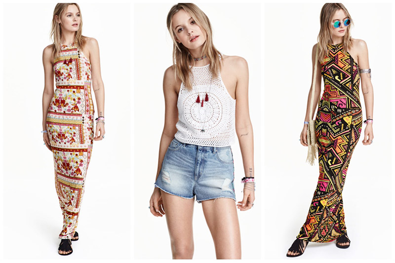 New Arrivals: H&M Loves Coachella lands online