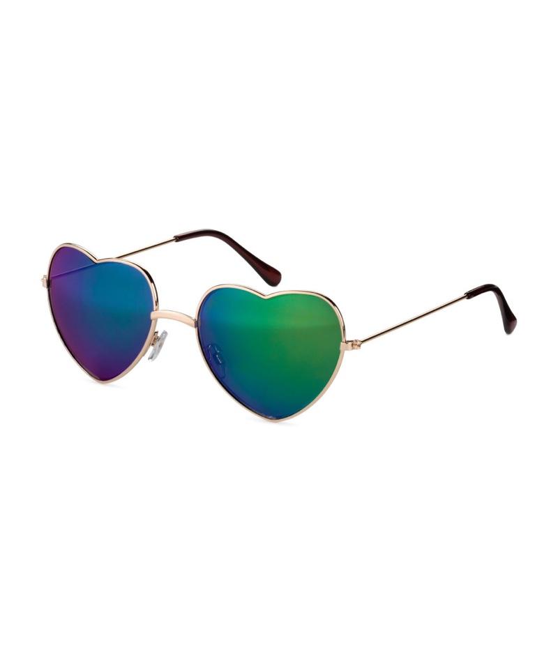 H&M Loves Coachella Heart-Shaped Sunglasses