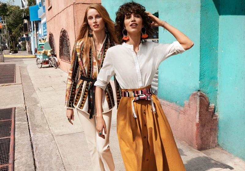 H&M channels bohemian style for its spring 2016 campaign