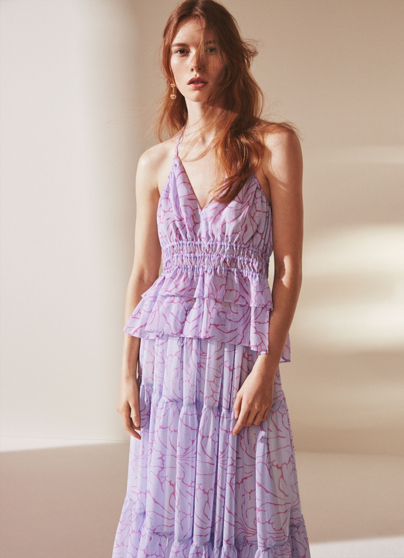 660cf6df511e ... Tiered lace dress from H&M's summer 2016 colelction