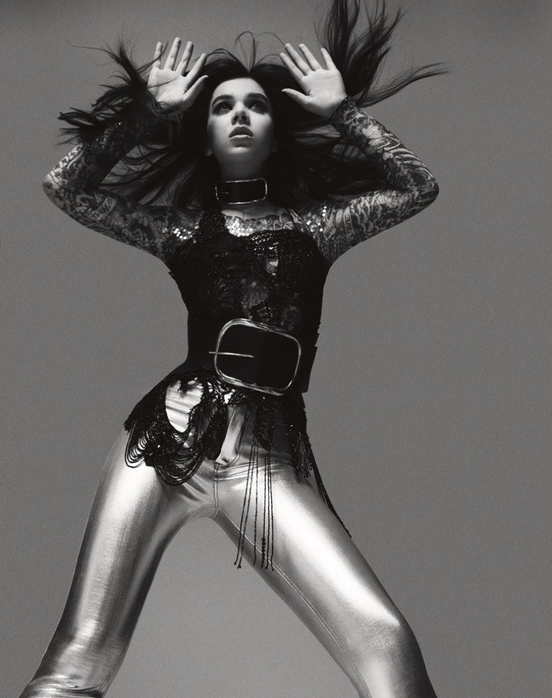 Hailee Steinfeld Channels Her Inner Rock Star for Interview Shoot