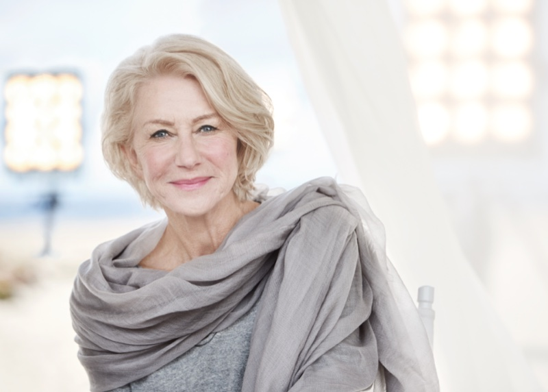 Helen Mirren Looks Absolutely Radiant In New L`Oreal Paris Ad