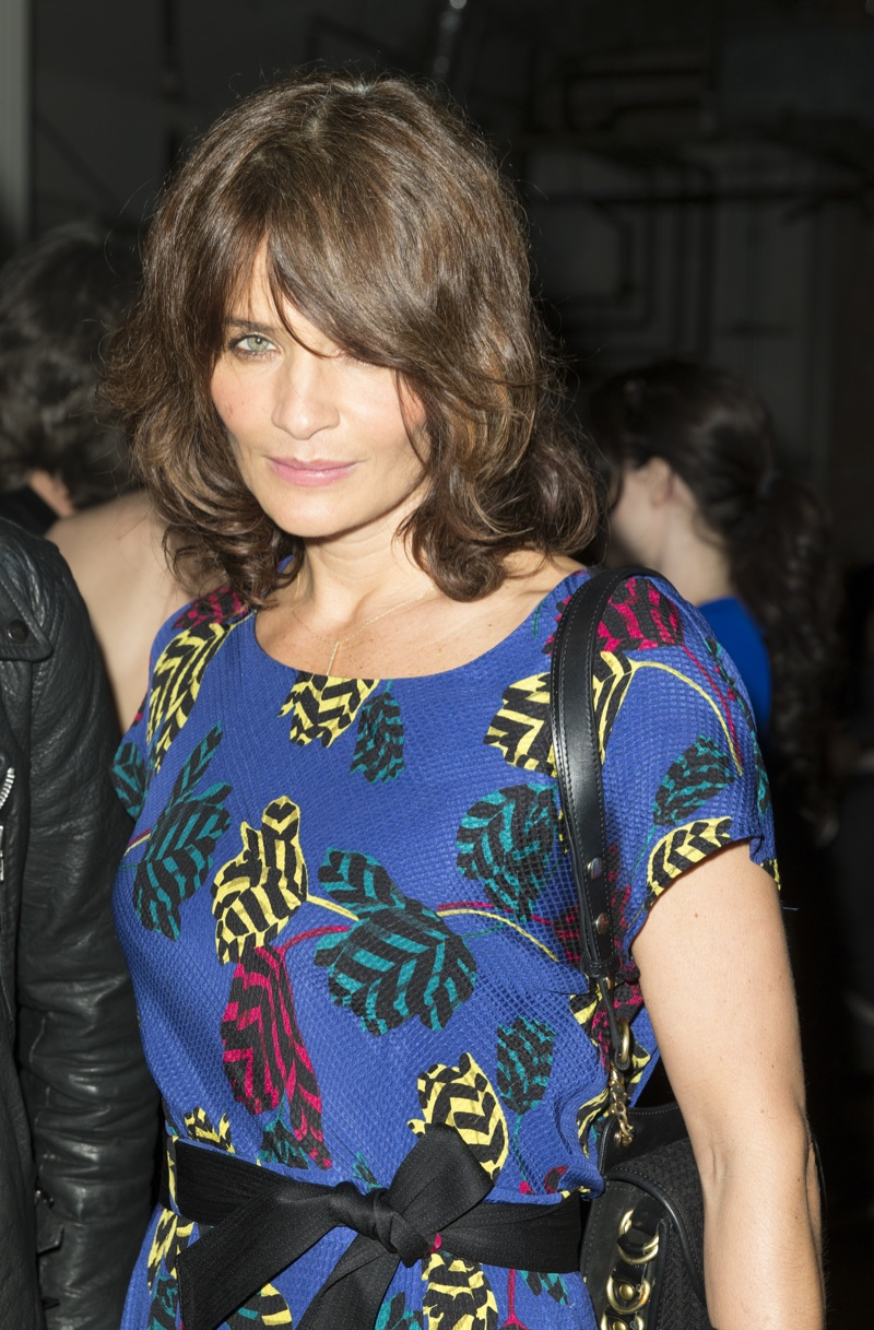 MARCH 2016: Helena Christensen attends Reserved Magazine Issue #3 launch party. Photo: lev radin / Shutterstock.com