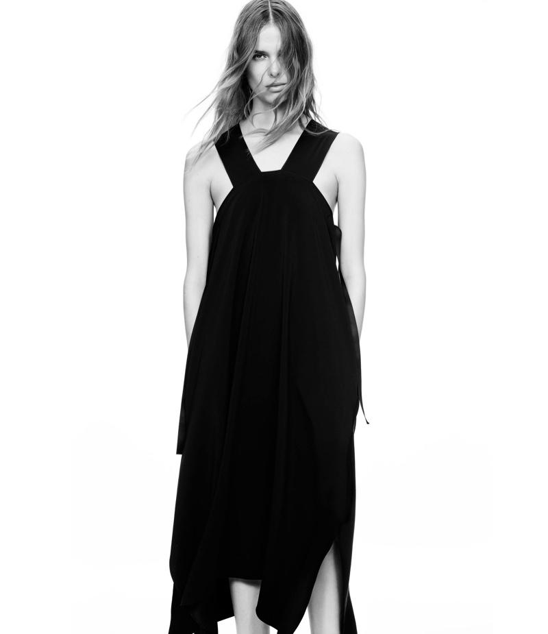 Helmut Lang Pinafore Dress