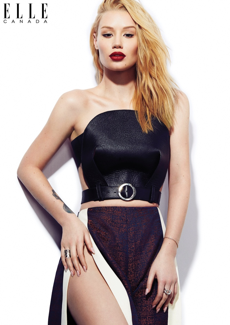 Iggy Azalea Stars in ELLE Canada, Gets Real About Plastic Surgery