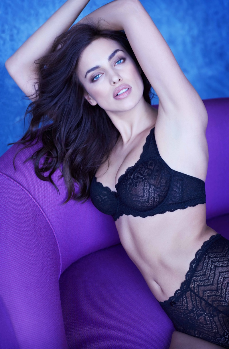 Irina Shayk Smolders For Intimissimi`s Perfect Bra Book