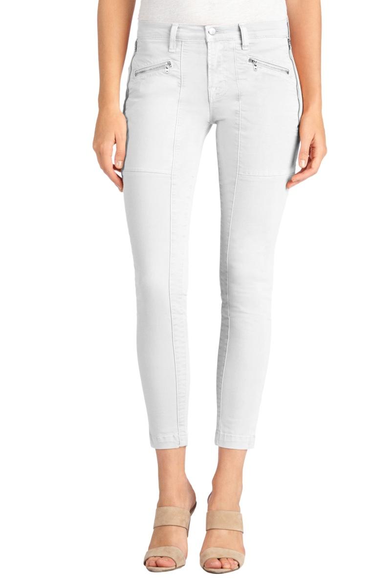 Blanc Slate: J Brand Takes on the White Denim Trend