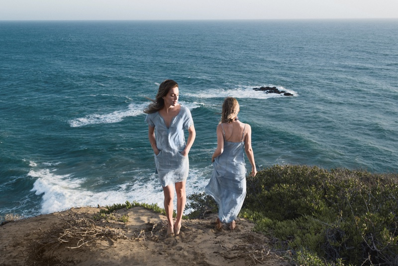 J Brand Goes Seaside for Montauk Blues Collection